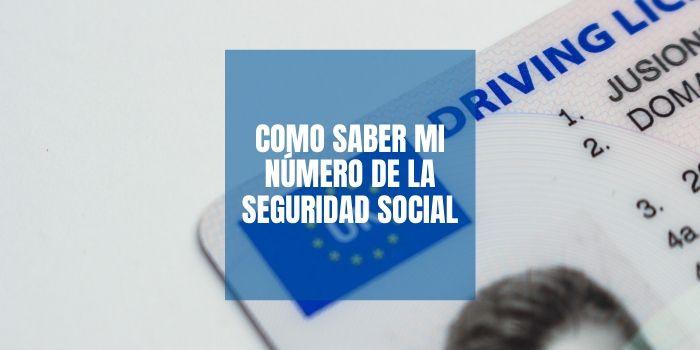 donde aparece mi número de la seguridad social
